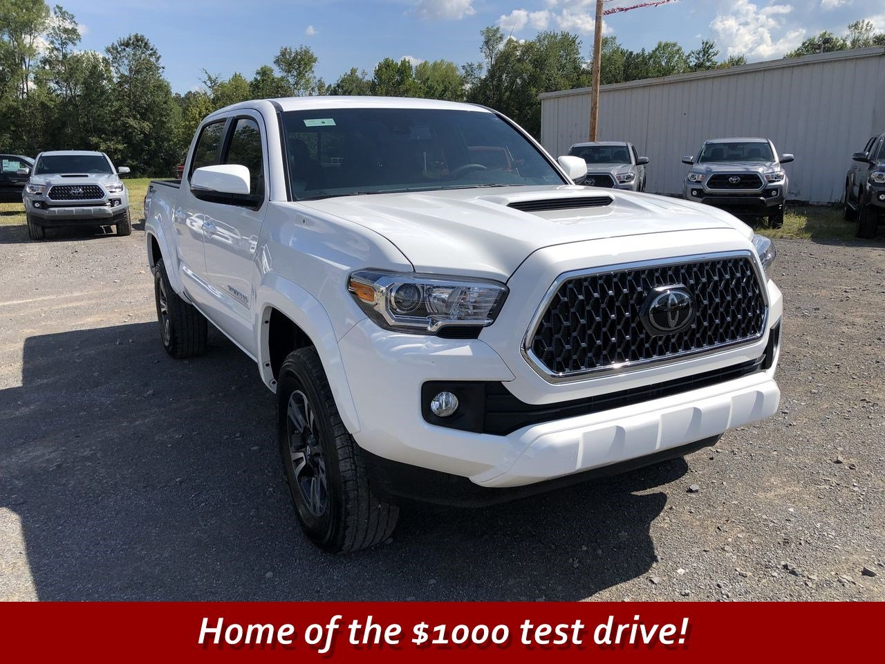 New 2018 Toyota Tacoma Trd Sport Double Cab In Scottsboro T075246 Sienna Rear Differential Support
