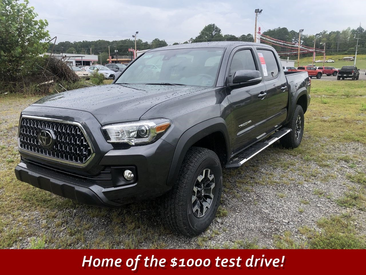 New 2019 Toyota Tacoma Trd Off Road Double Cab In Scottsboro