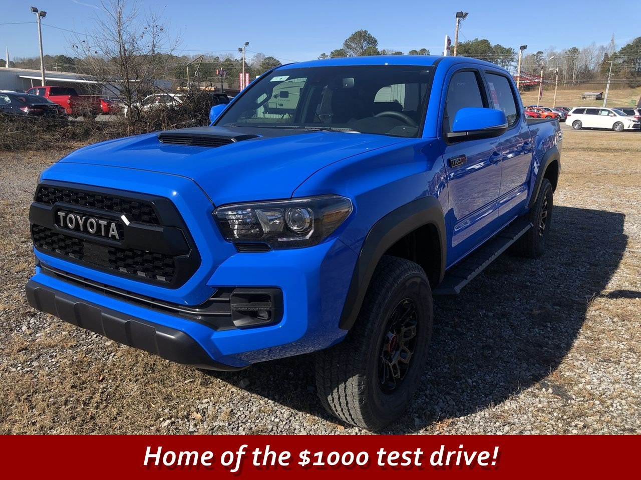 New Toyota Tacoma >> New 2019 Toyota Tacoma Trd Pro Double Cab In Scottsboro T181696