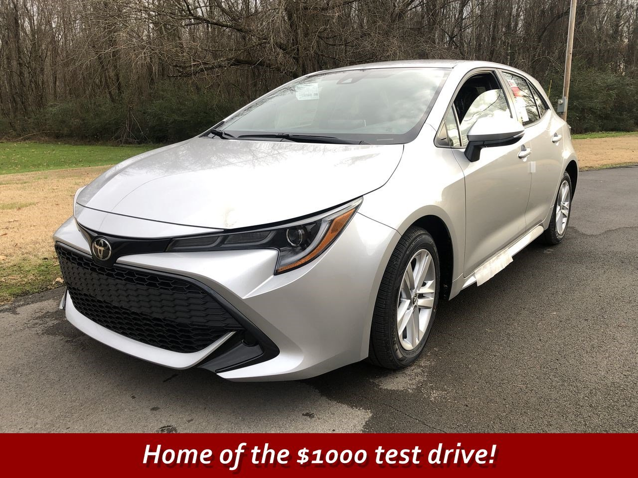 New 2019 Toyota Corolla Hatchback Se Hatchback In Scottsboro