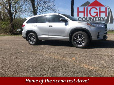 New 2018 Toyota Highlander XLE With Navigation & AWD