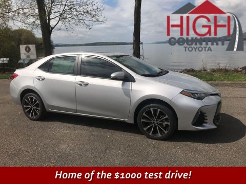 New 2018 Toyota Corolla SE FWD 4dr Car