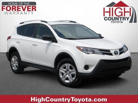 Pre-Owned 2015 Toyota RAV4 LE FWD Sport Utility